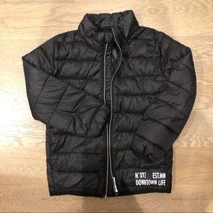 Toddler light puffer jacket, Size 4-6